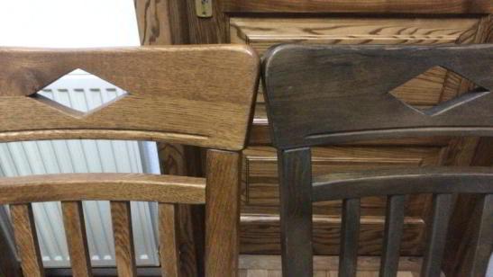 scaun din stejar Dijon
