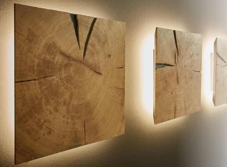 lumină și lemn