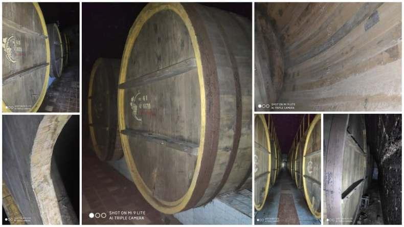 budane din stejar 12000 litri