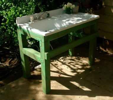 suport verde pentru chiuveta