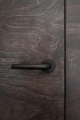usa din lemn furniruit