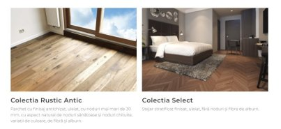 parchet Rustic Antic si Select