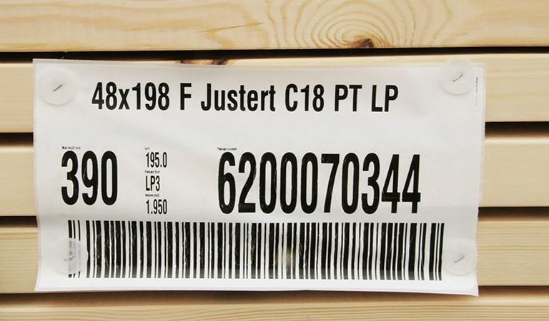 eticheta cu clase de rezistență C24