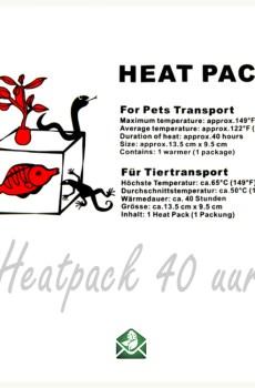 Heatpack aquapack 40 uur voorstbescherming voor stekjes plantjes en dieren