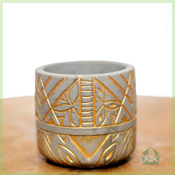 Osiris gold plantenpot bloempot sierpot 6 cm