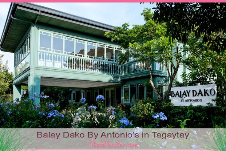 Balay dako by antonios in tagaytay