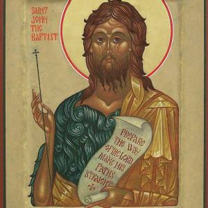 St. John the Baptist, 2008, by the hand of Faye Drobnic