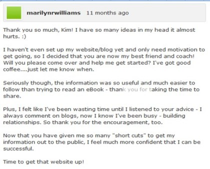 feedback from end user regarding dashboards