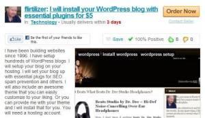fiverr outsource guide - wordpress setup installation