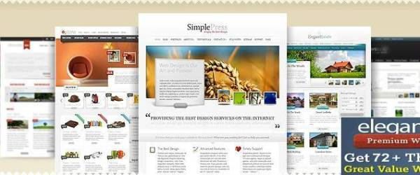 cheapest premium wordpress themes - elegant themes