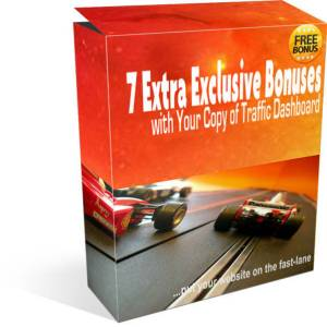 traffic dashboard exclusive bonuses - the bonus pack
