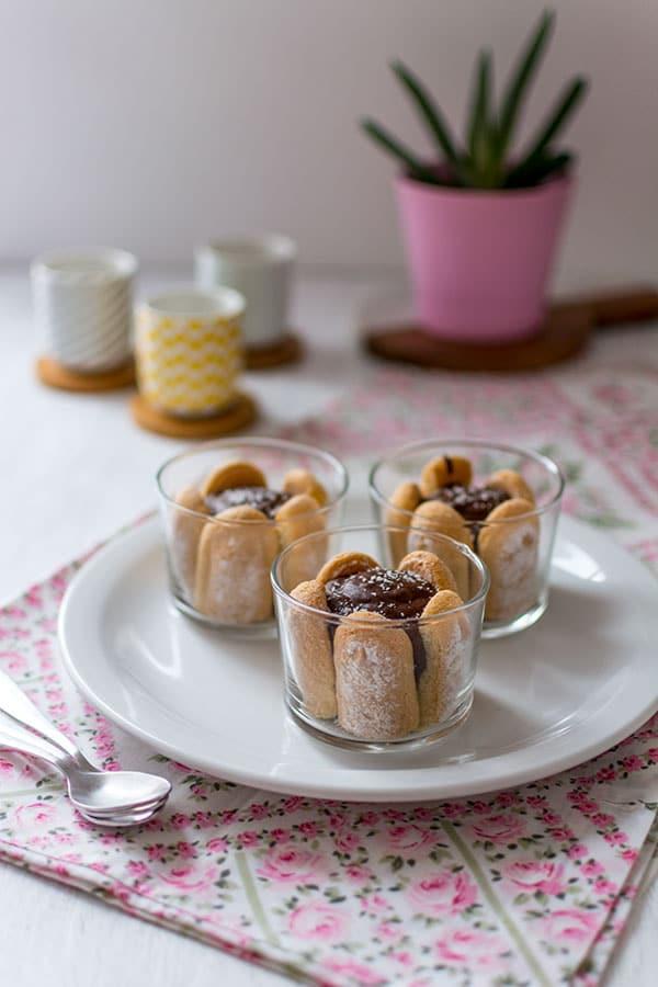 Recette De Verrines Chocolat Cur Coco Et Biscuits
