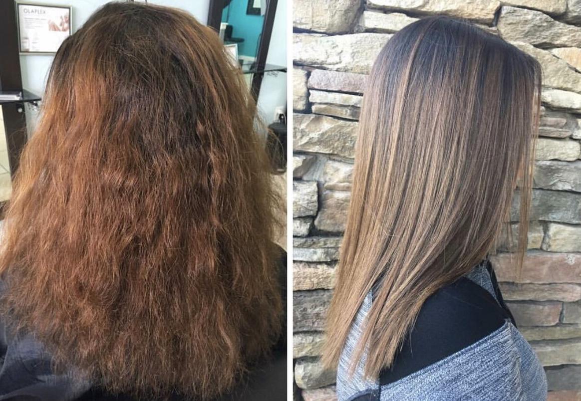 hair botox at stella luca stella luca