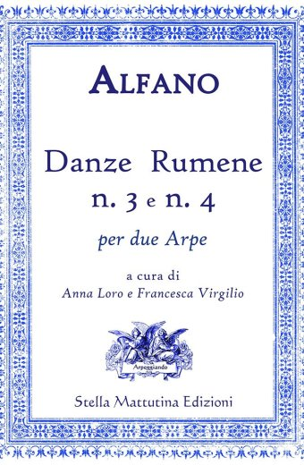 Copertina danze rumene n.3 e n.4