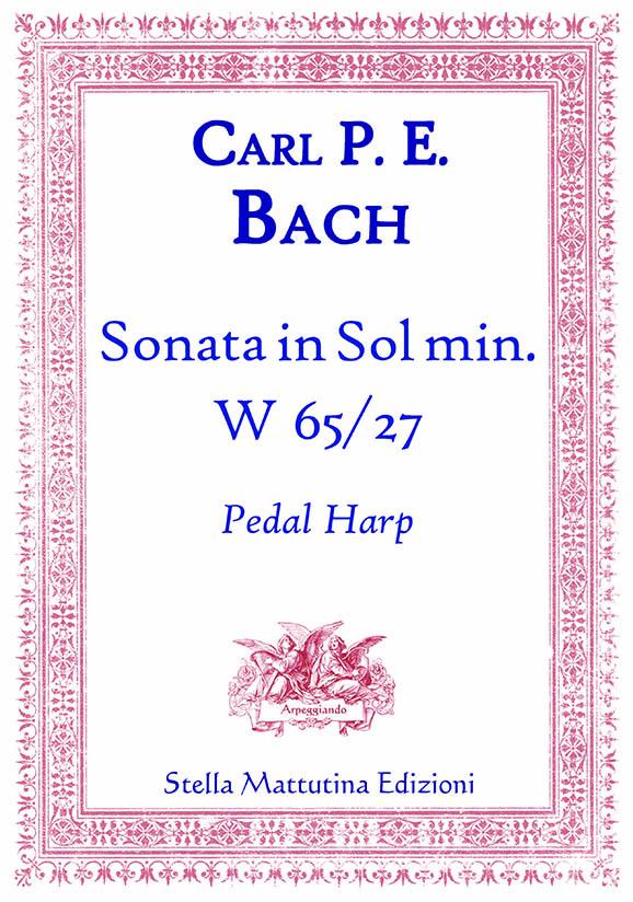 Copertina Sonata sol minore Bach