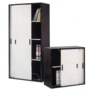 Full & Half Height Cupboard with Steel Sliding Door