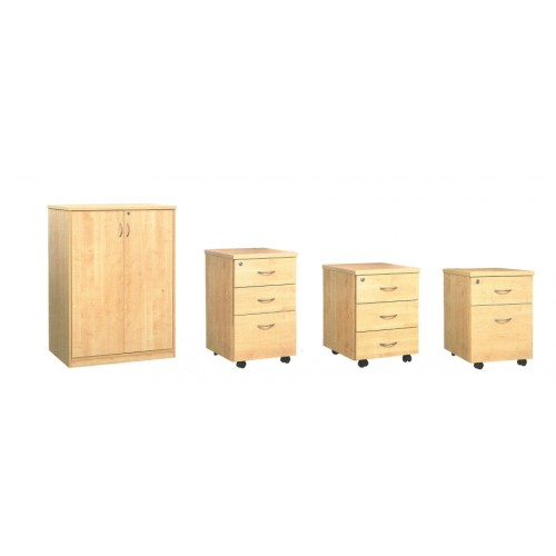 Low Cabinet and Mobile Pedestal