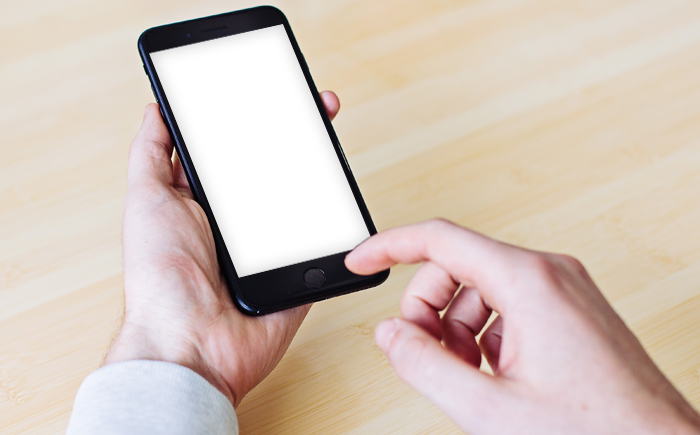 iPhone-white-screen
