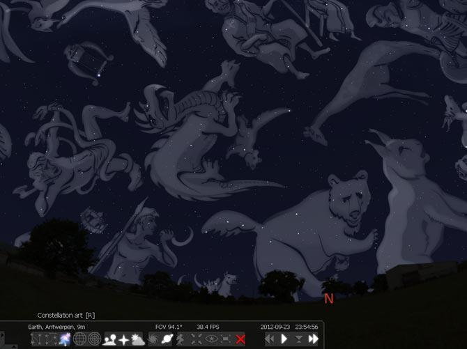 visulitzant constel·lacions