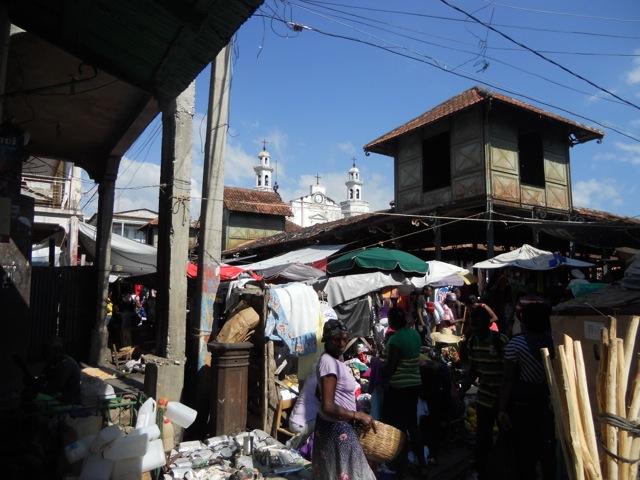 iron market Jacmel haiti