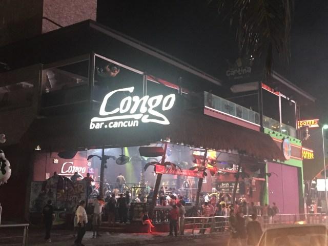 Cancun, Congo Bar