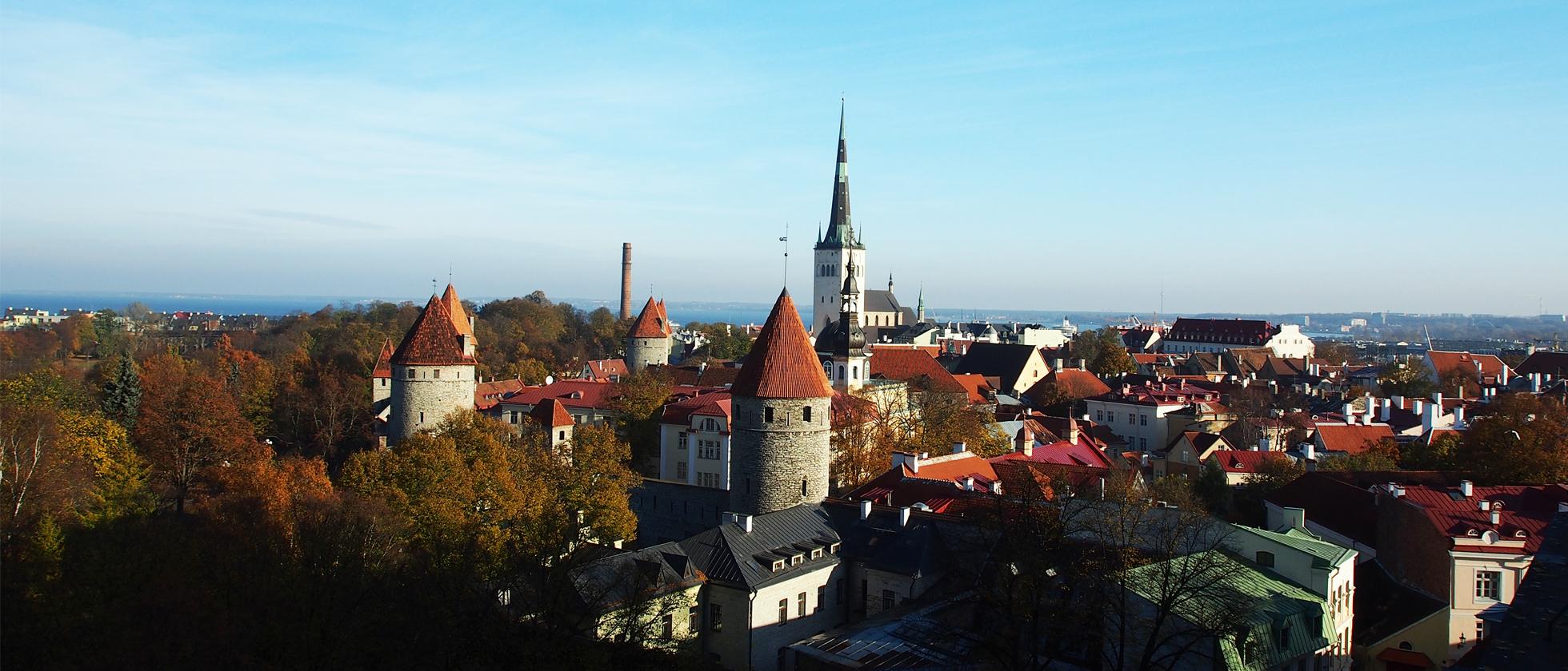 Terug In De Tijd In Tallinn
