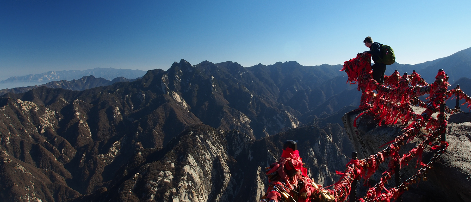 Mt. Hua Shan, betreden op eigen risico
