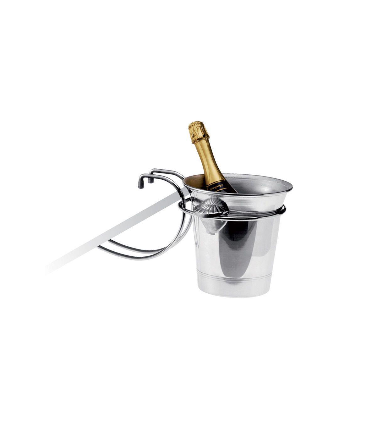 support de table pour seau a champagne