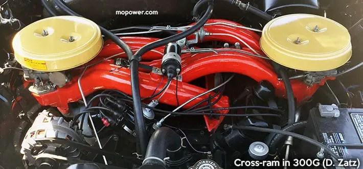 300G cross-ram wedge engine