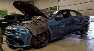 First Dodge Charger Hellcat Redeye Hits the Dyno