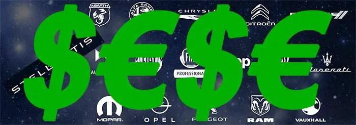 Stellantis financials - earnings - dollars