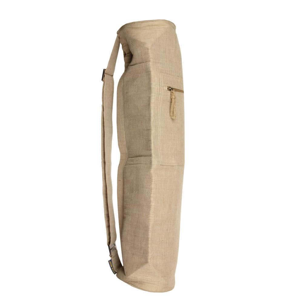 sac pour tapis de yoga jute natural