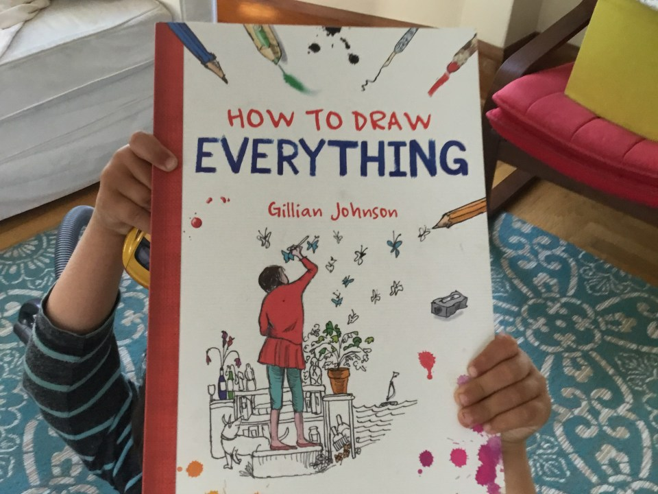 The great book, How to Draw Everything