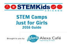 Chicago STEM Camps for Girls 2016