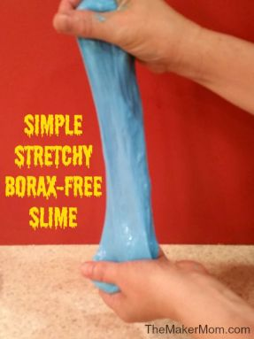 how to make slime without Borax, Borax-free slime