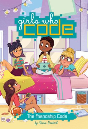 Girls Who Code Book, one of the new great reads for STEM girls