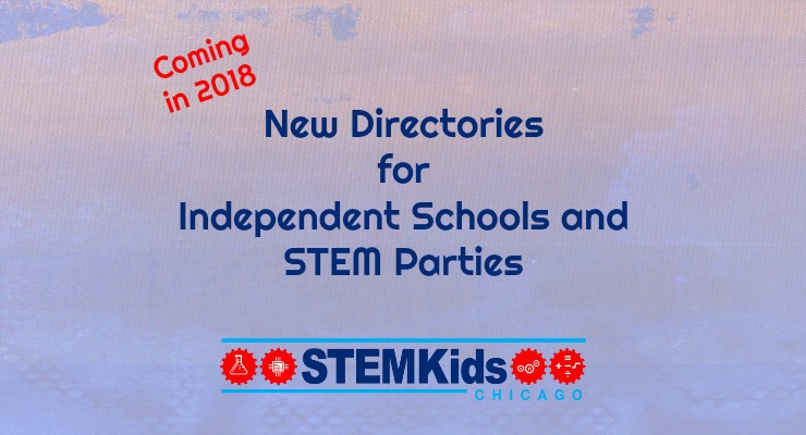 Chicago directory of STEM schools and party places