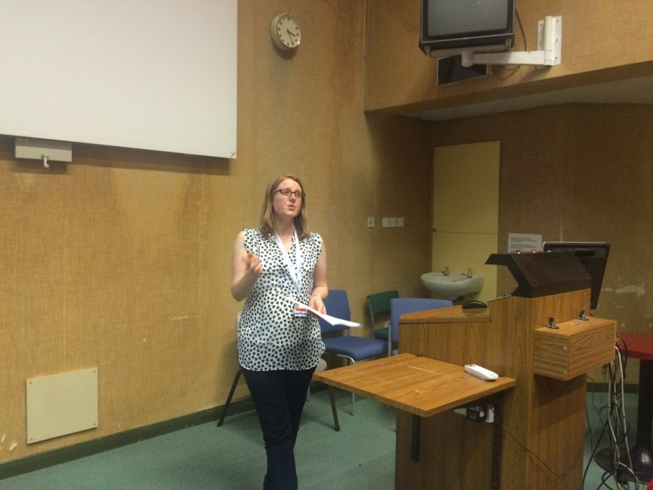 Lisa Murthen has successfully set up an active research team at a community hospital
