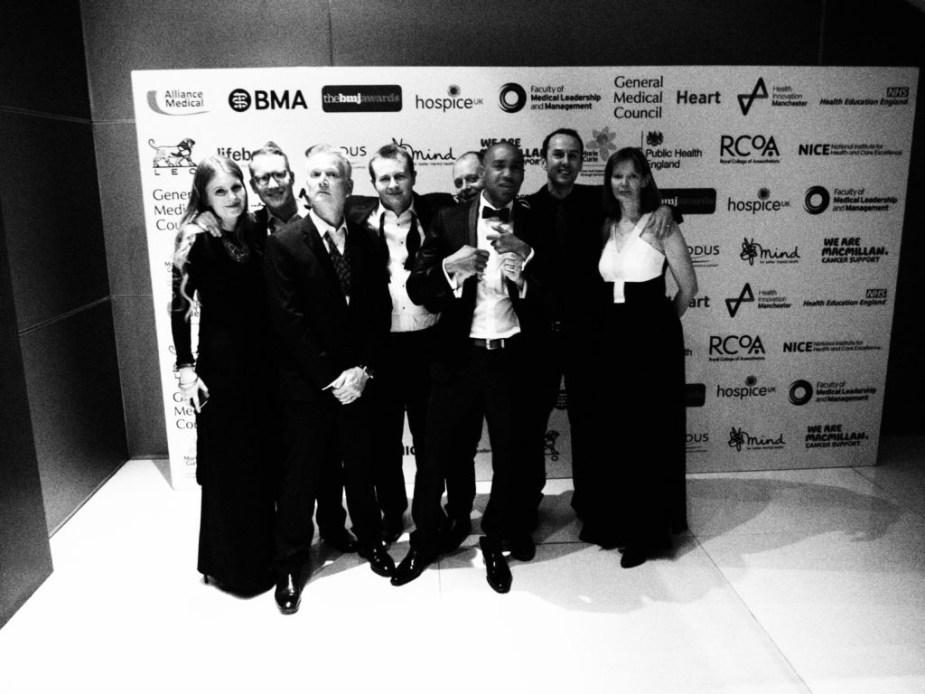 BMJ Awards 2017 St.Emlyn's failing to win but having fun