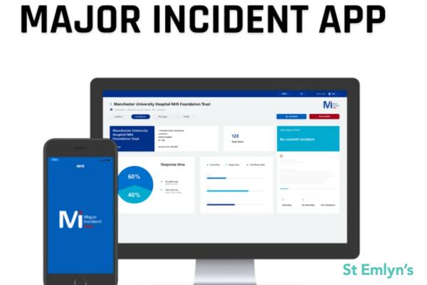 major incident app MIA