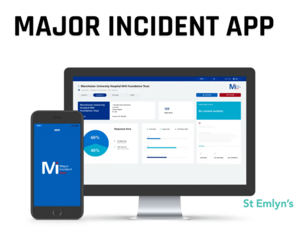 major incident app MIA