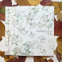 Japanische Stabbindung: Herbst-Herbarium