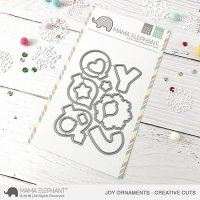 mama elephant - joy ornaments dies