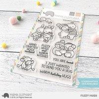 mama elephant - fuzzy hugs