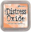 dried marigold - distress oxide ink