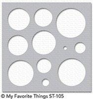 mft stencil basic shapes circles