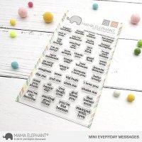 Mama Elephant Mini everyday messages