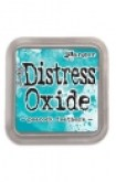 distress oxide ink - peacock feathers
