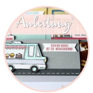 Kuchenschnitte - Lecker Laster-Stampin Up