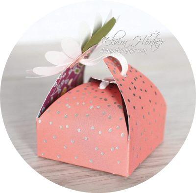 Box mit besonderem Verschluss-Gänseblümchen-Daisy-Punch-Goodie-Stampin Up-Blog-Österreich